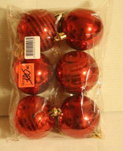 ! набор крас шаров 6шт, ячейка: 96