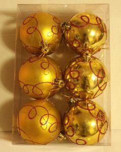! набор зол шаров сред 6шт, ячейка: 96