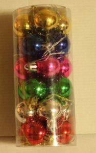 ! набор мал цв шаров 24шт, ячейка: 96