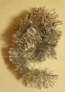 ! мишура 4.5см 1м сереб 1, ячейка: 97