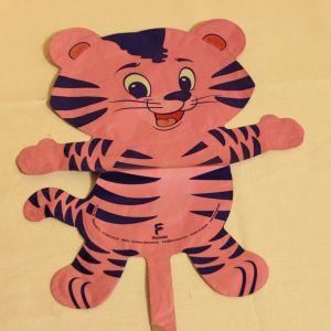 ! шар фольг тигр роз, ячейка: 98