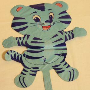 ! шар фольг тигр гол, ячейка: 98
