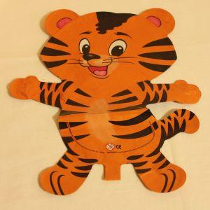 ! шар фольг тигр рыж, ячейка: 98
