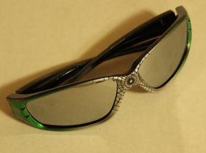 ! очки солн детс паук зел, ячейка: 106