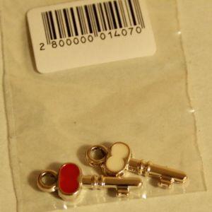 ! укр дбраслета ключ 2шт  2, ячейка: 106