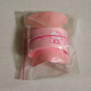 ! репс лента 25мм  роз китти 2м, ячейка: 116