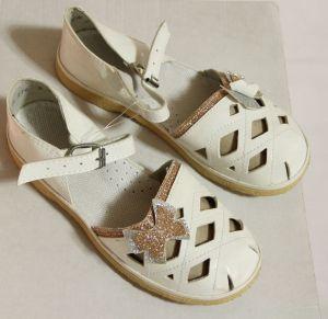 ! сандалии давлеканово дев бело-золот размер 195, ячейка: 137