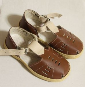 ! сандалии давлеканово мальч корич размер 155, ячейка: 139