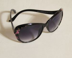 ! женс очки солнцезащ цветн 02, ячейка: 143