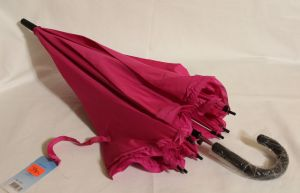 ! зонт подрост полуавтомат малин 8спиц длина 68см, ячейка: 144