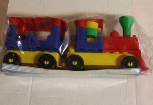 ! волшебный поезд-конструктор, ячейка: 34