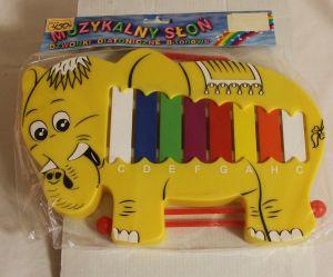 ! металлофон слон, ячейка: 40