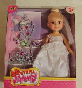 ! кукла невеста с аксесс 26см, ячейка: 33