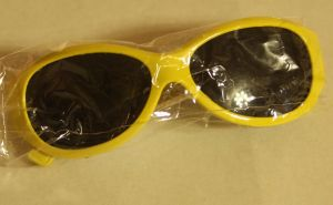 ! очки солн детс желт, ячейка: 106