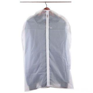 Полиэтиленовый чехол для одежды на молнии, 60х90 см