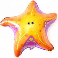 Шар (26''/66 см) Фигура, Морская звезда, 1 шт.