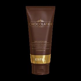 """Крем-скраб для тела """"Шоколадная крошка"""" ESTEL CHOCOLATIER, 200 мл"""