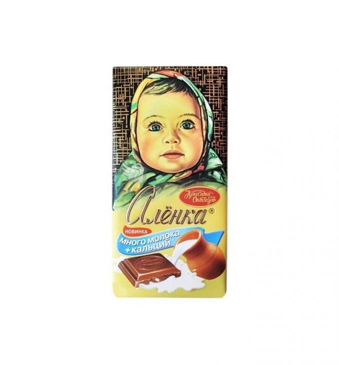 Шоколад Аленка много молока 100г Красный Октябрь