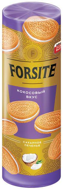 Печенье FORSITE сэндвич с кокосовым вкусом 208г Яшкино
