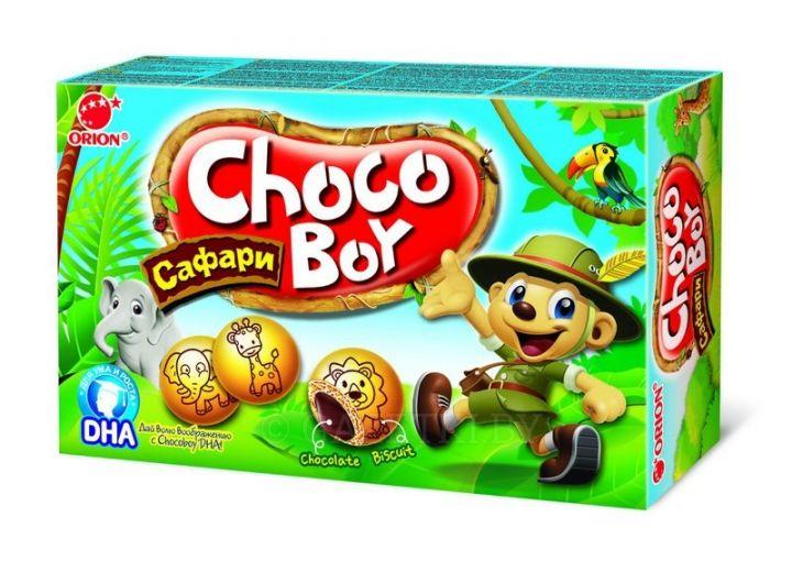 Печенье Чоко-Бой Сафари 42г