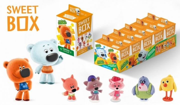 Мармелад с игрушкой SweetBox Ми-Ми-Мишки 10г