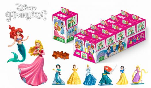 Мармелад с игрушкой SweetBox Принцессы 10г