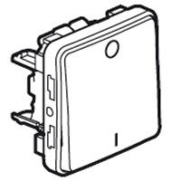 69530 Plexo Выключатель двухполюсный серый Legrand