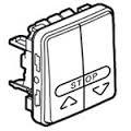 69539 Plexo Кнопка выключателя для жалюзи, серый Legrand
