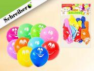 Набор воздушных шариков, 10 штук в упаковке. Цвета шариков ассорти. Вес упаковки 3 грамма (арт. S 346)