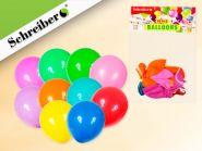 Набор воздушных шариков, 10 штук в упаковке. Цвета шариков ассорти. Вес упаковки 1,5 грамма (арт. S 333)