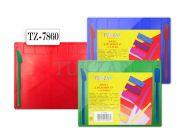 Доска для лепки цветная А5 (два стека) с евроводвесом (арт. TZ 7860)
