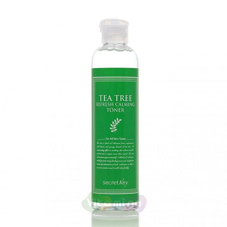 Secret Key Тоник очищающий с маслом чайного дерева для проблемной кожи Tea Tree Refresh Calming Toner, 248 мл