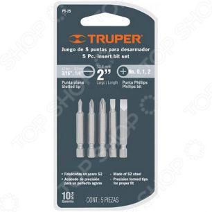 Набор бит 5 шт TRUPER P5-11 17776