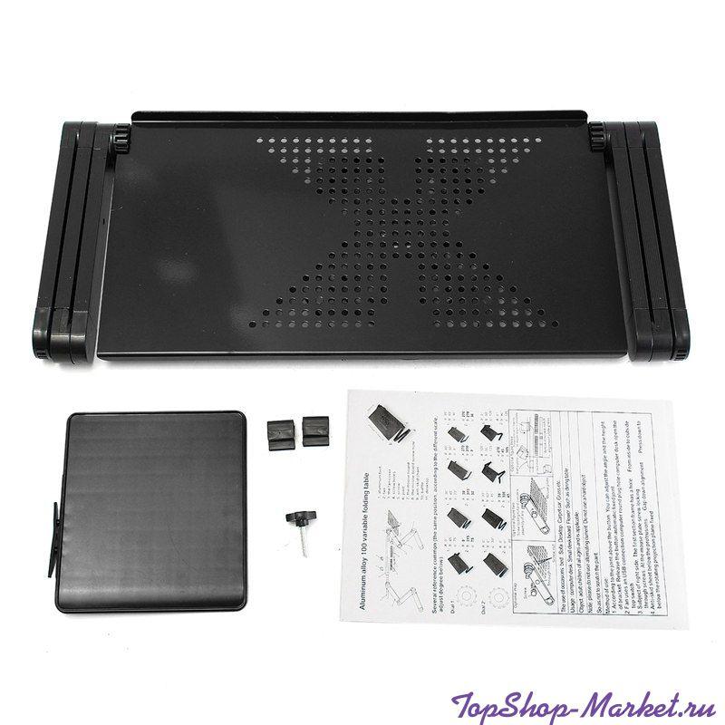 Столик-трансформер для ноутбука Laptop Table Т9