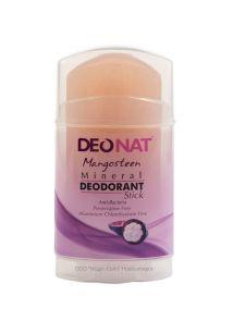 """Дезодорант-Кристалл """"ДеоНат"""" с соком МАНГОСТИНА, розовый стик, вывинчивающийся (twist-up), 100 гр арт.2112"""