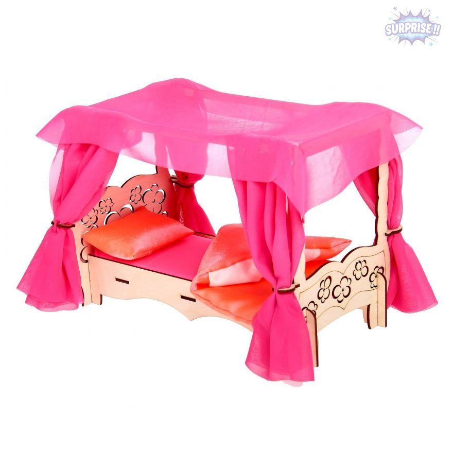 """Набор мебели """"Чудо-кровать с балдахином + спальный набор"""""""