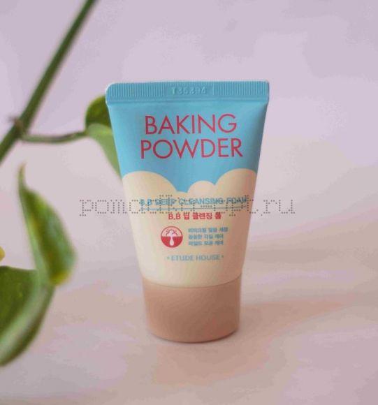 Пенка для удаления макияжа ETUDE HOUSE Baking Powder Pore & BB Deep Cleansing Foam 30ml