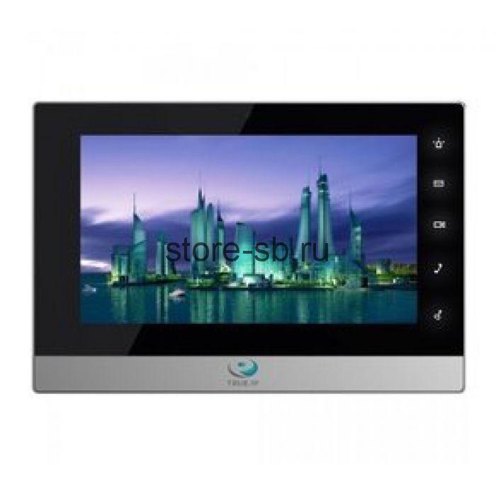 Домофон True-IP TI-2750BS(черный с серебром)