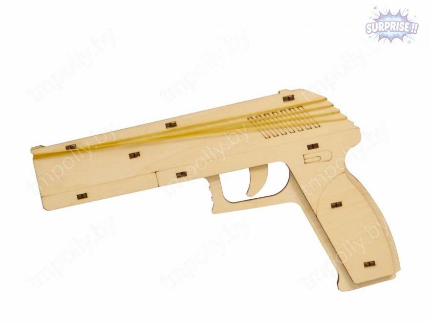 «Пистолет» конструктор оружие резинкострел