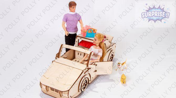 «Чудо-автомобиль» для кукол
