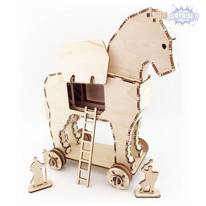 «Троянский конь» для рыцарей и солдатиков