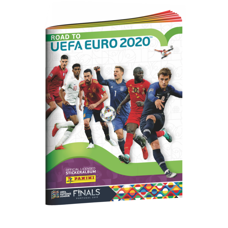 "Наклейки Panini ""Road to EURO 2020"""