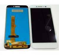 LCD (Дисплей) Alcatel 5080X Shine Lite (в сборе с тачскрином) (white) Оригинал