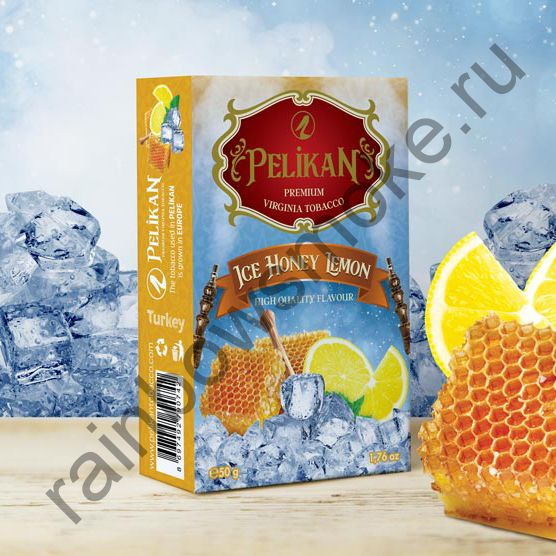Pelikan 50 гр - Ice Honey Lemon (Лед Мед Лимон)