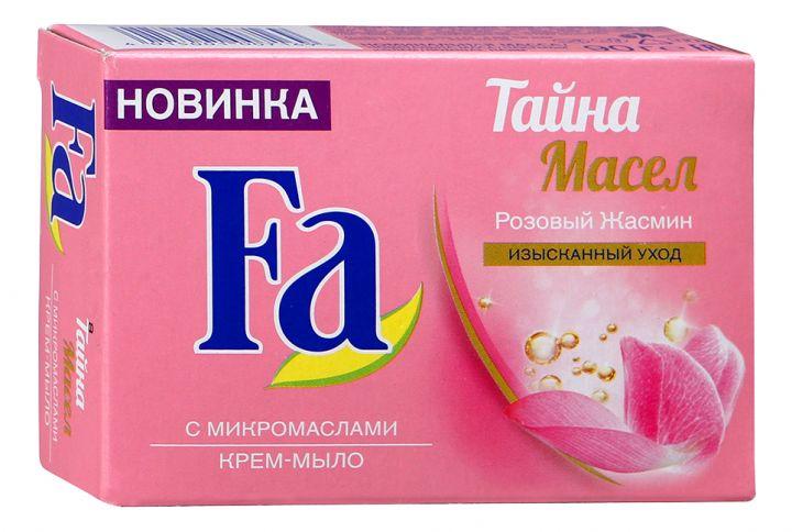 Мыло Fa 90г Тайна Масел Розовый Жасмин