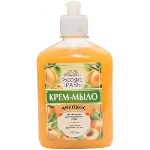 Мыло жидкое Русские травы 300мл Абрикос Пуш-пул