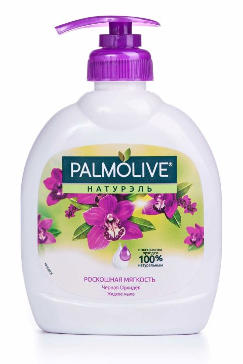 Мыло жидкое Палмолив 300мл Черн.орхидея