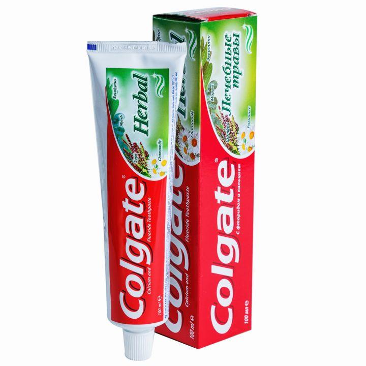 Зуб. паста Colgate 100мл Лечебные травы