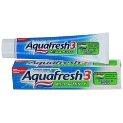 Зуб. паста Aquafresh-3 зеленый 125мл