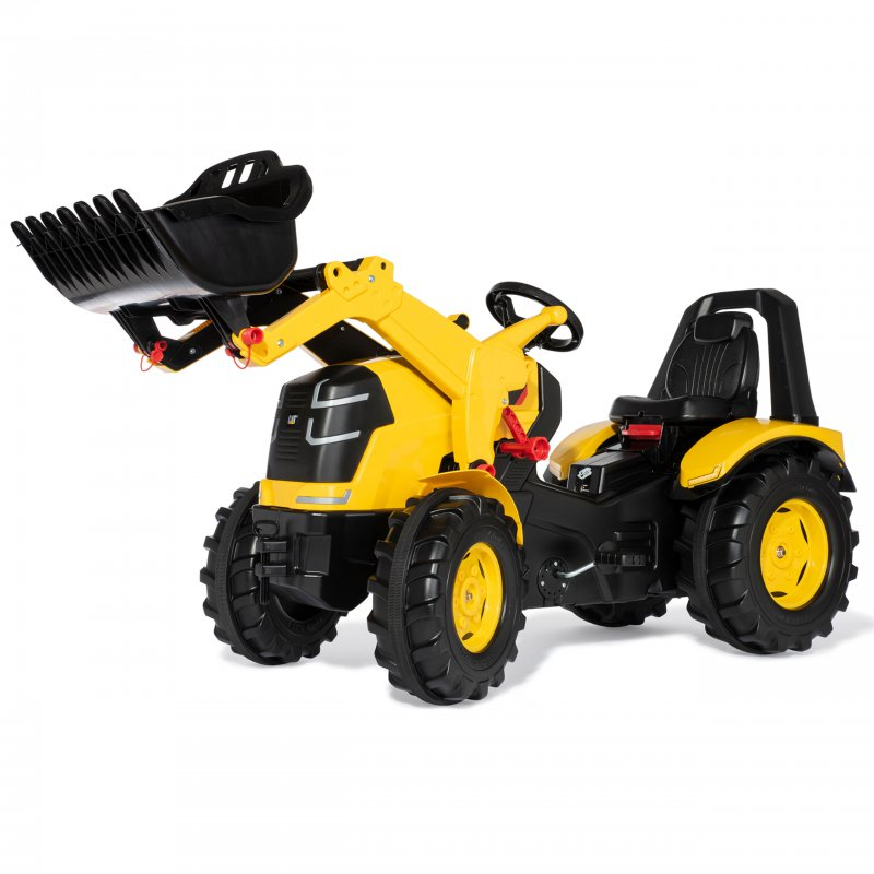 Трактор на педалях Rolly Toys CAT 651115